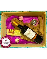 Gourmet Geschenkpaket NUR Rotwein, Kaviar